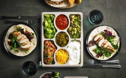 Zen Selection Platter with build your own taco ingredients - Plus Pack
