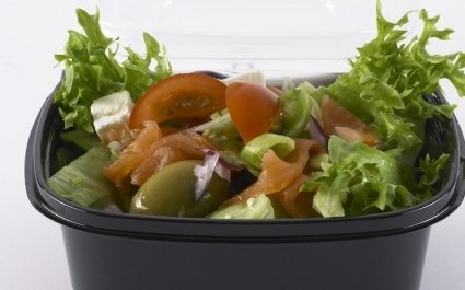 Pot of salad with salad - Plus Pack