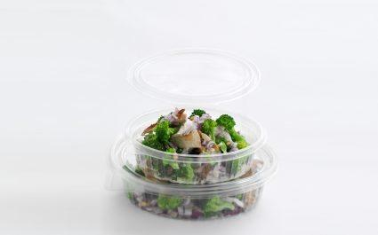 Salad pots with lids - Plus Pack