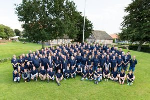 Group photo of Plus Pack employees
