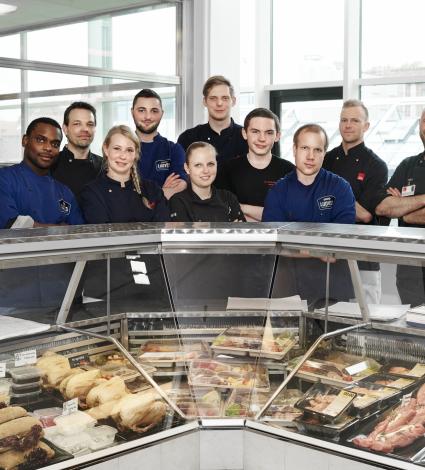 Aarhus butcher school, Zen selection platter test