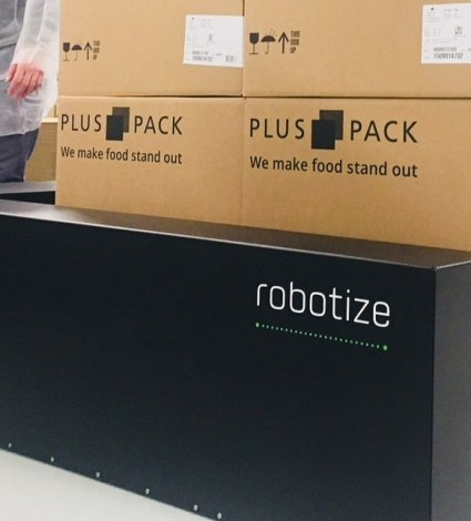 innovative, palette transport, robotize, robots, Plus Pack