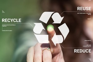 Recycling awareness - circular economy
