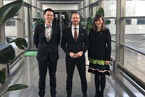Plastics Action Plan, Camilla Haustrup Hermansen, Anders Top Haustrup, Ellemann, minister, visit