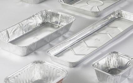Standard Aluminium containers