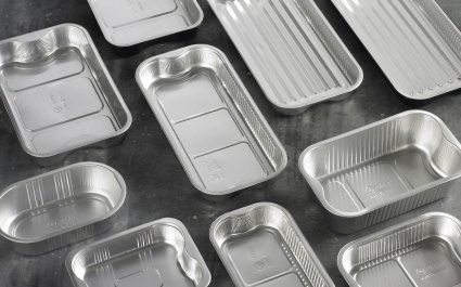 Various aluminium trays - shapes and sizes and depths - Plus Pack