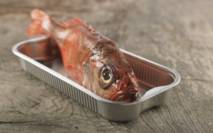 Aluminium tray for baking fish - Ready2Cook convenience - Plus Pack