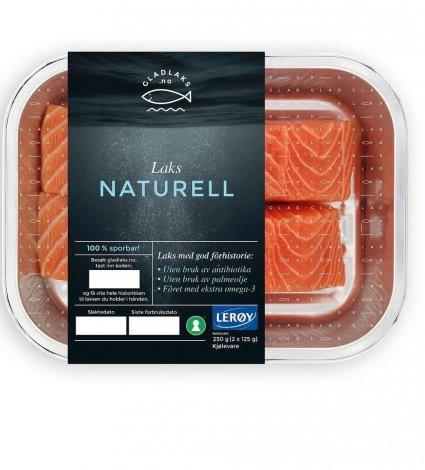 Glad Laks pack of fresh salmon - Plus Pack