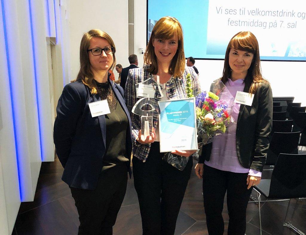 plastic prize, plastprisen, 2019, Plus Pack, Camilla